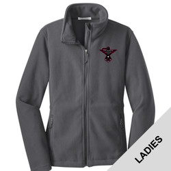 L217 - S102E001 - EMB - Ladies Fleece Jacket